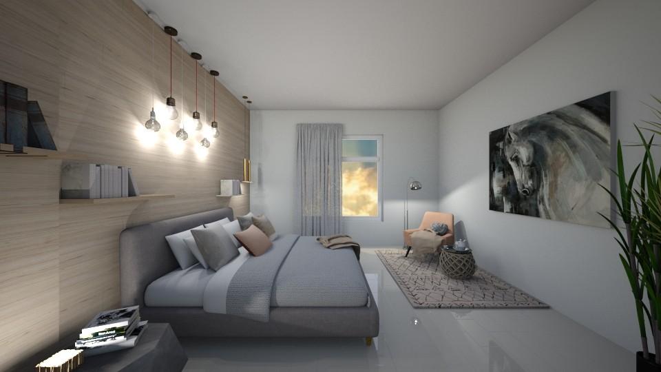 Bed Room - Bedroom - by reem11