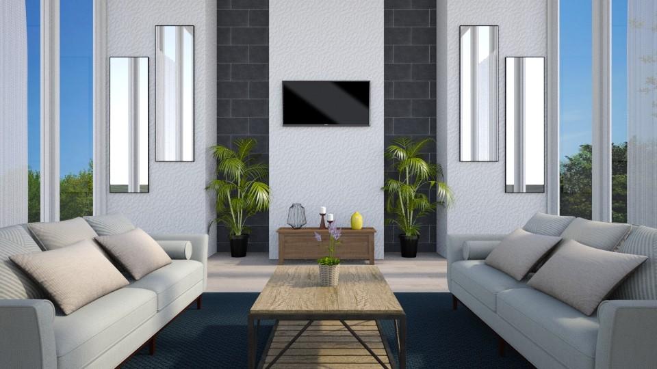 Living Room - by nabilacandra