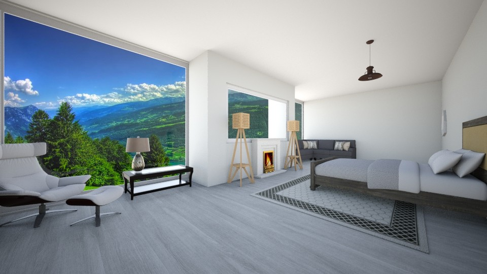 master bedroom - Bedroom  - by Love dogs 111