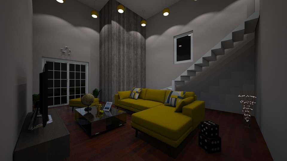 Sunny Sunshine - Modern - Living room - by udanielle12
