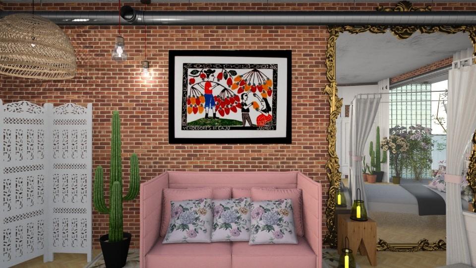 meu aconchego - Living room - by yyyyy
