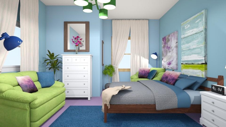 Lori 4 - Bedroom - by Lori Hallman Douglas_763