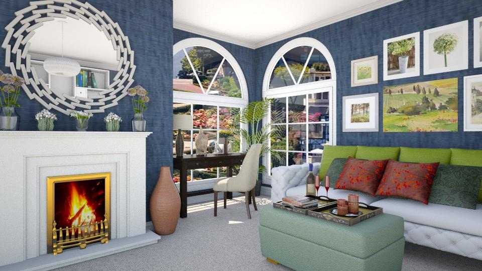 Living Room Corner - Eclectic - Living room - by LadyVegas08