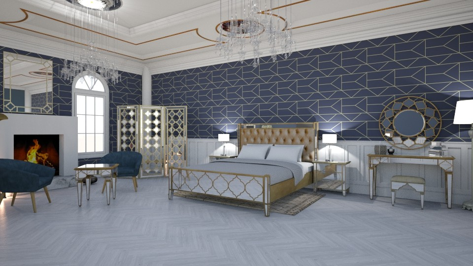 Ada Bart - Glamour - Bedroom - by AdaBart