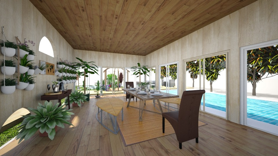 Modern tropical kitchen - Kitchen - by Waykeeup