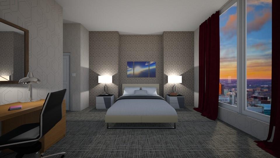 hotel room  - by sosielundeen
