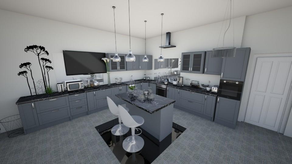 Name B - Kitchen - by sosna