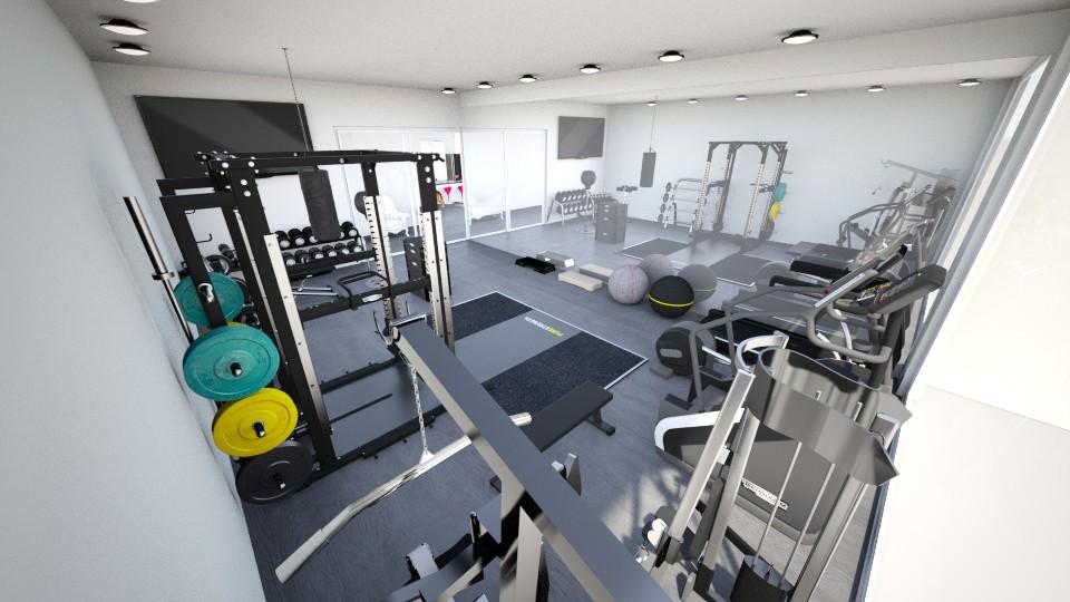 gym - by yana mariee