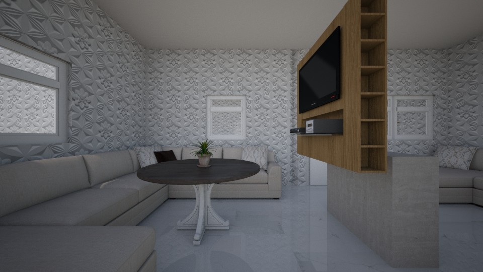 the house of 3 poeple - Classic - Living room - by hello4355
