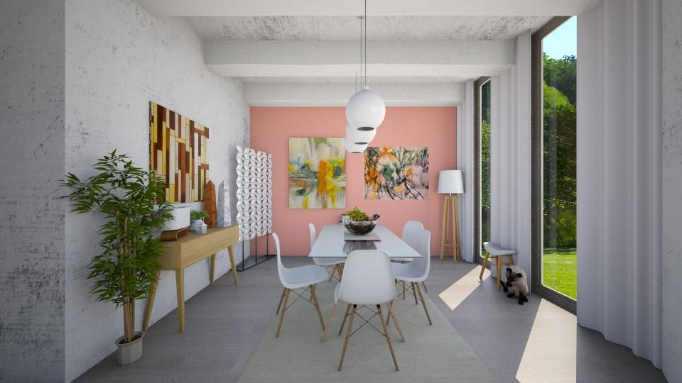 FRESH  - Dining room - by GoliaNova