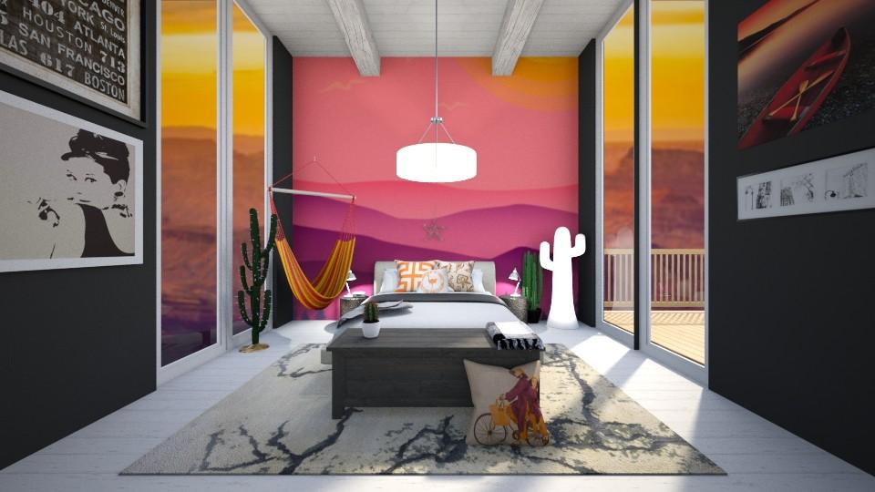 Canyon - Bedroom - by sjm2025ozark