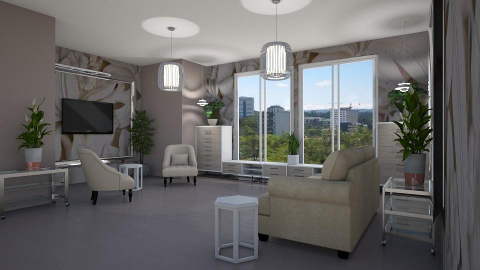 Room 5 - Living room - by Tiffany Y