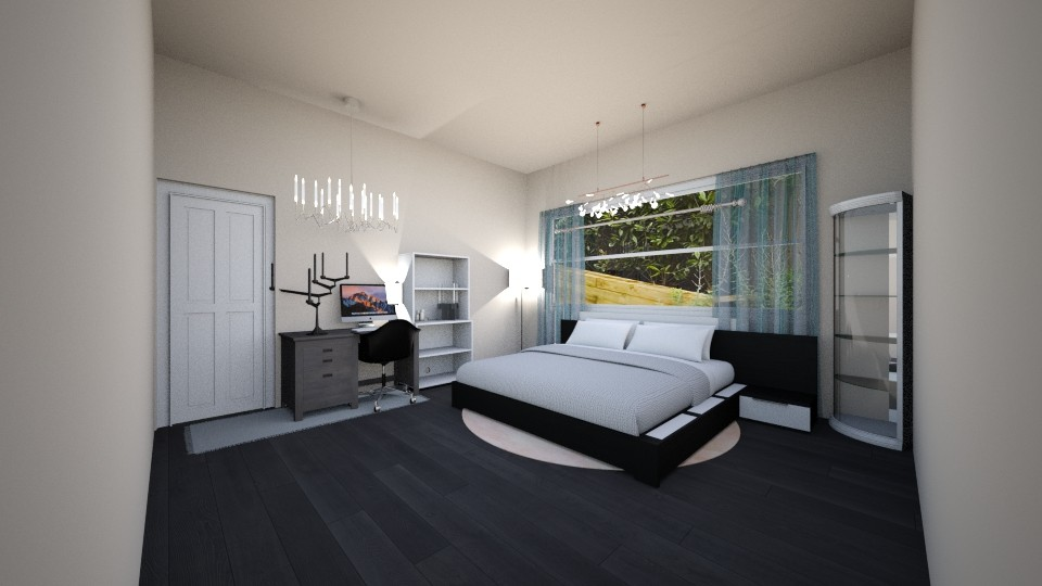 bedroom - Modern - Bedroom - by the ice magical unicorn