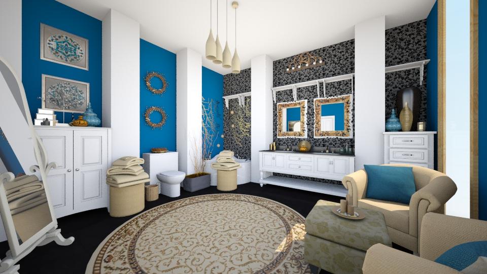Simple Elegance - Glamour - Bathroom  - by CreativeCE