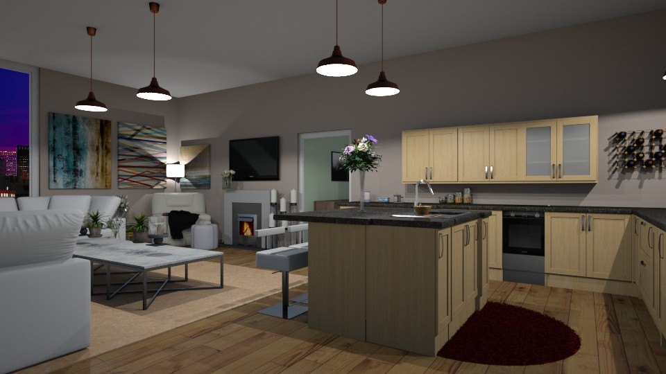 open concept - Modern - by Jessica Evelyn