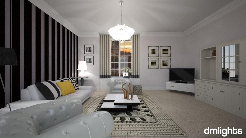 Tuxedo - Living room - by DMLights-user-982019