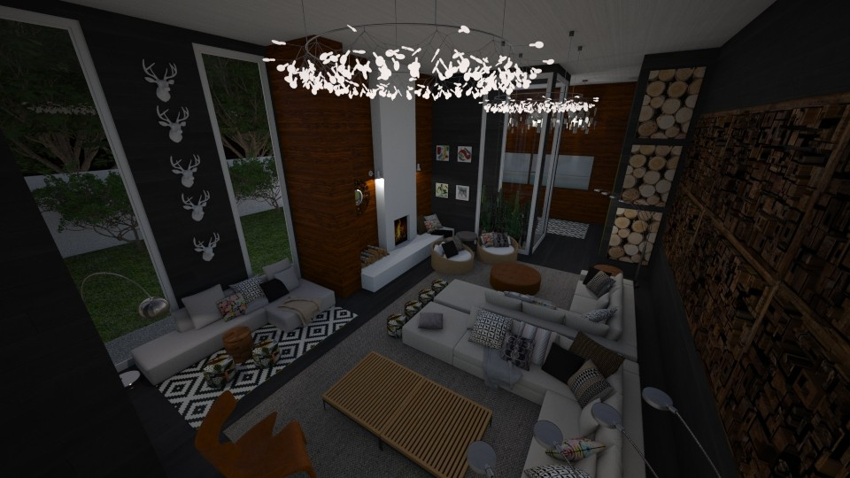 Lux Mod Looking Down - Living room - by DecoMaster5