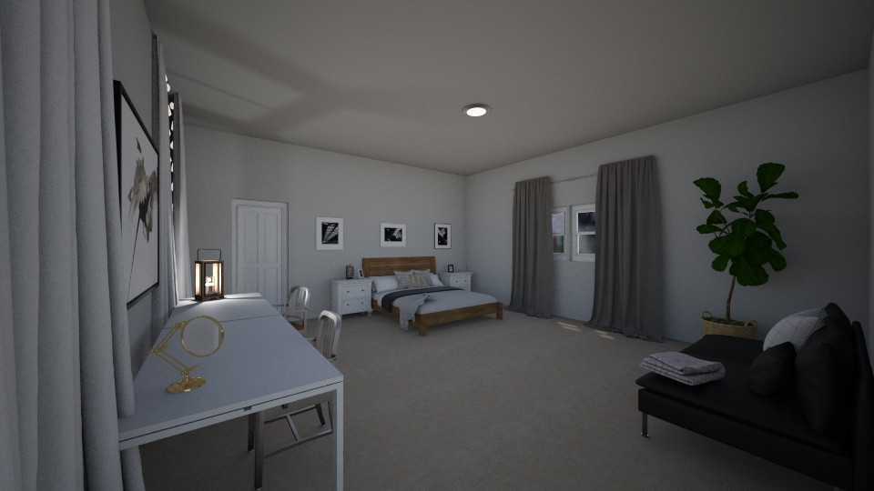 my room project - Bedroom - by makaylalijahj
