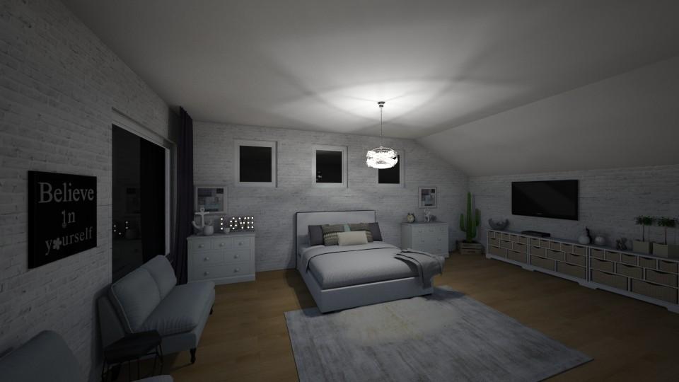 Scandinavia Bedroom - by Emma Wright_708