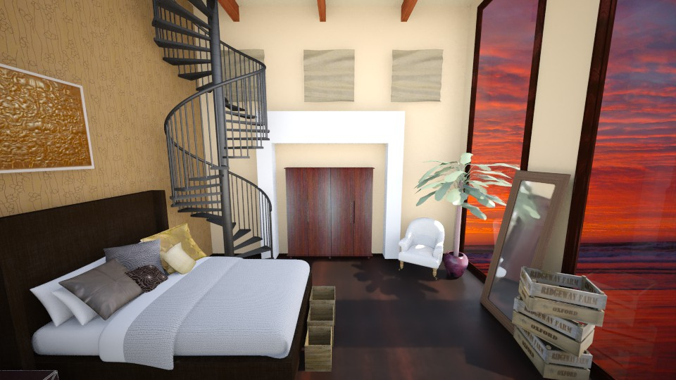 Bedroom - Bedroom - by emily_padilla