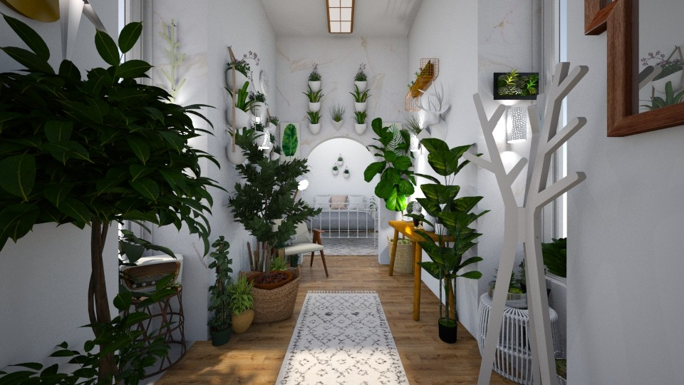 jungle hallway - by tiana24