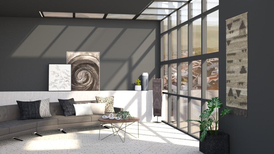 OKeeffe living  - Living room - by TamarK