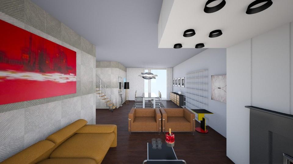 modern livingroom 2 - Modern - Living room - by margesimpson2000