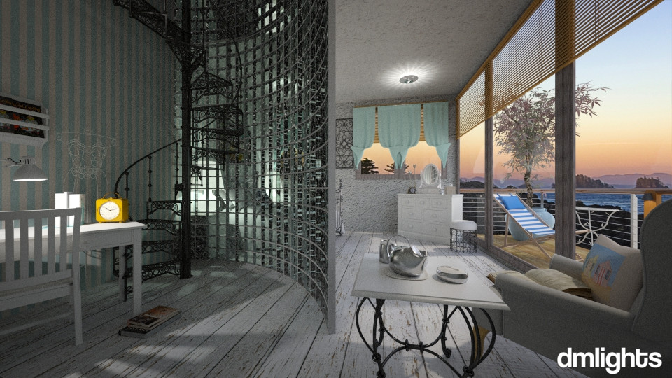 beach cove - Bedroom - by DMLights-user-1118154