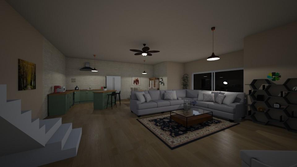 Dream living room - by MimeiNeko