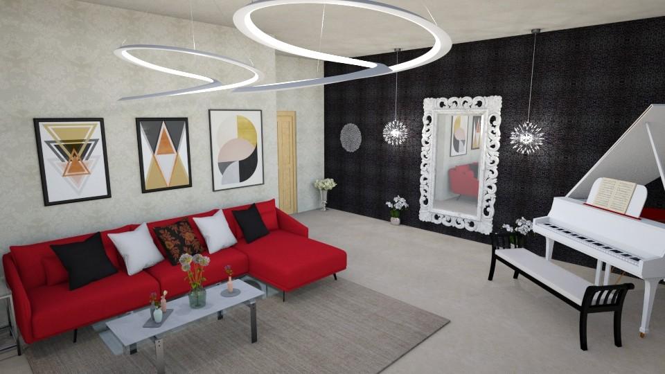 living room - Modern - Living room - by zahraa97
