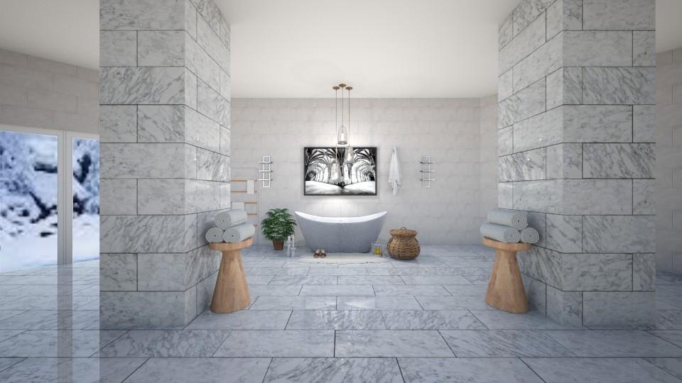 Living Marble - Bathroom - by YearOfTheDog