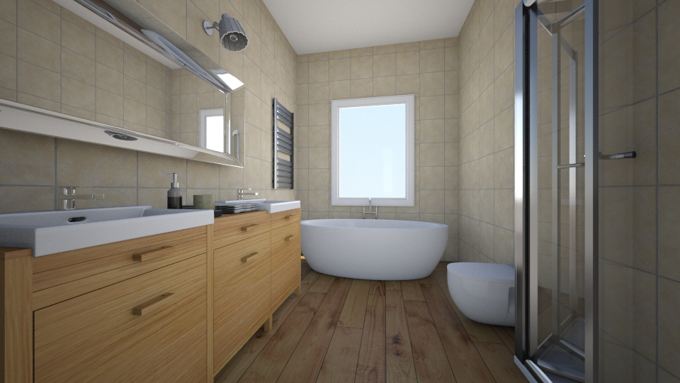BANO1 - Bathroom - by Abaco