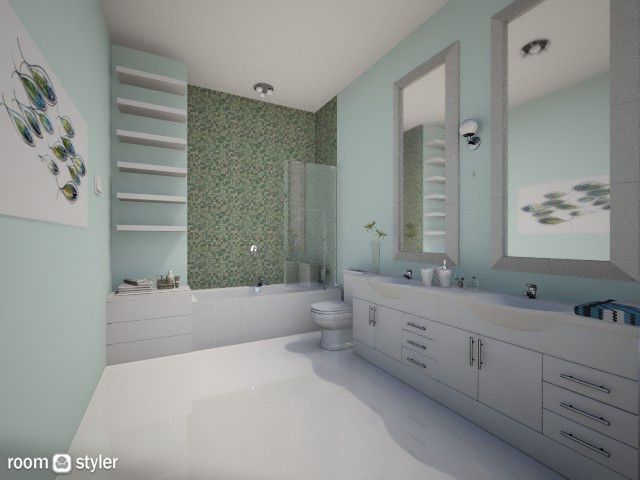 Get wet soon - Bathroom - by Anna Wu