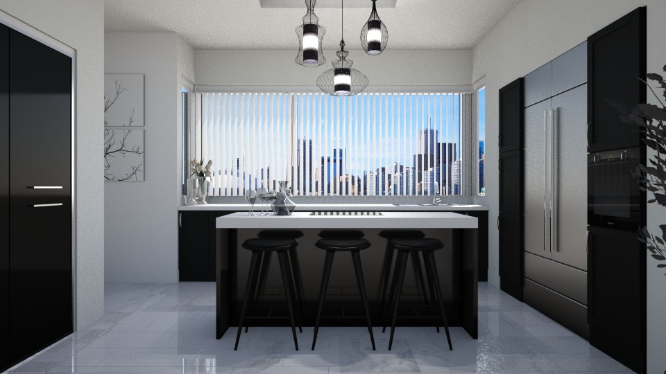 GREY - Global - Kitchen - by Rose Hdz