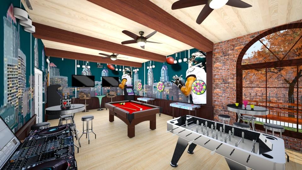 Jenna Gameroom last - Living room - by jhembry