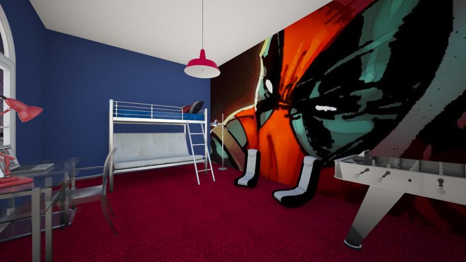 deadpool - Modern - Bedroom - by dwoods