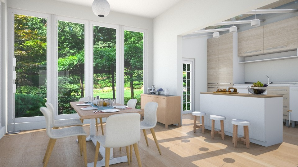 Kendall_dining - Dining room - by laughterlines