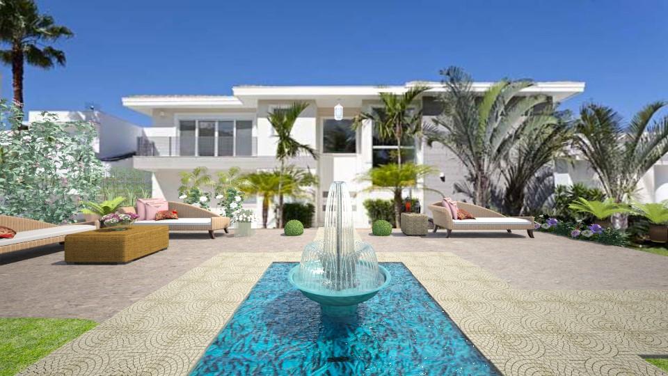 Lounge Villa 2 - by Themis Aline Calcavecchia
