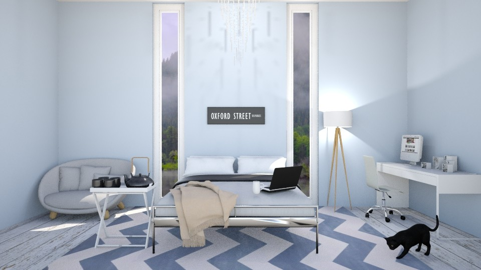 Misty Blue - Bedroom - by Design_CG