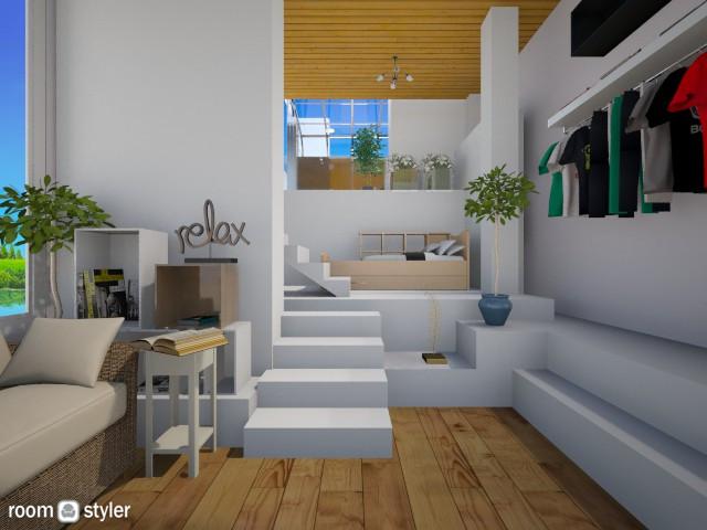Mordern Bed - Bedroom - by Siti Idrus
