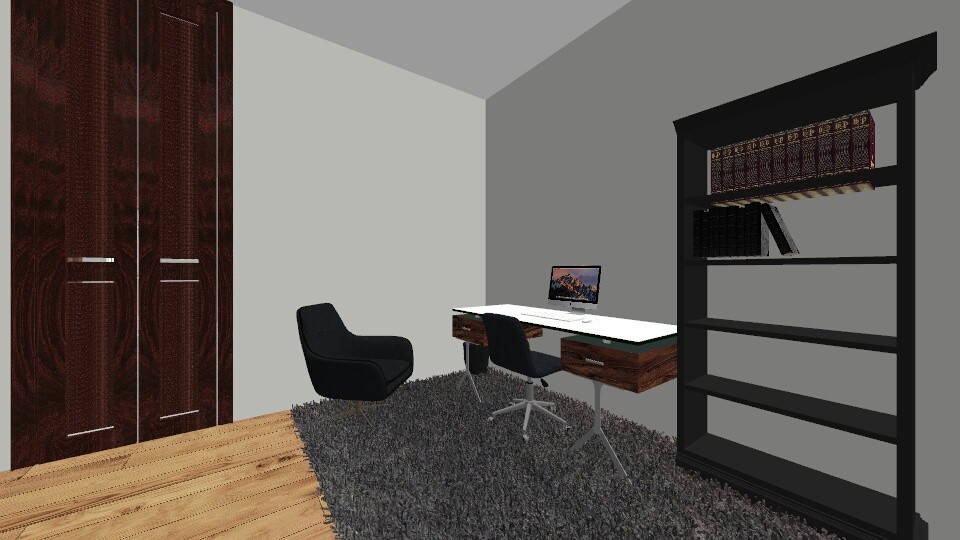 modern office - Office - by Bezuglyfamily