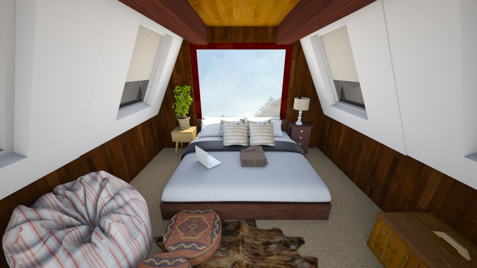 attic - Bedroom - by harly sales