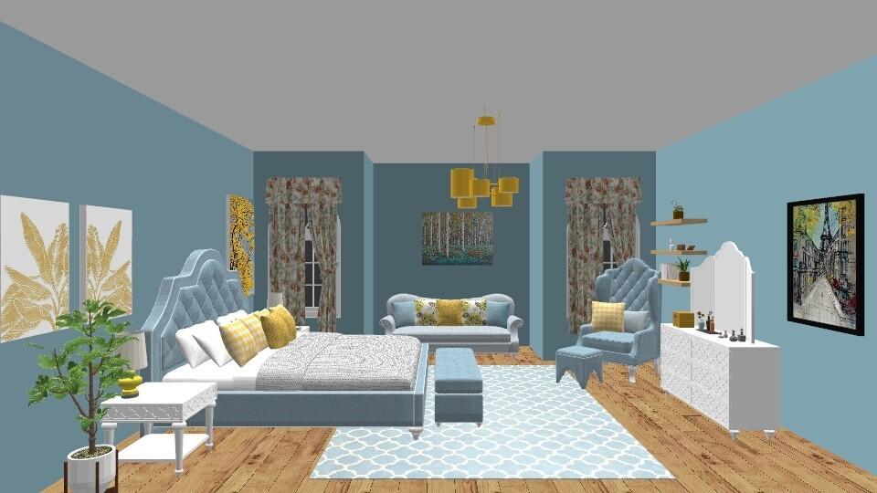 Maybe - Bedroom - by Lori Hallman Douglas_763