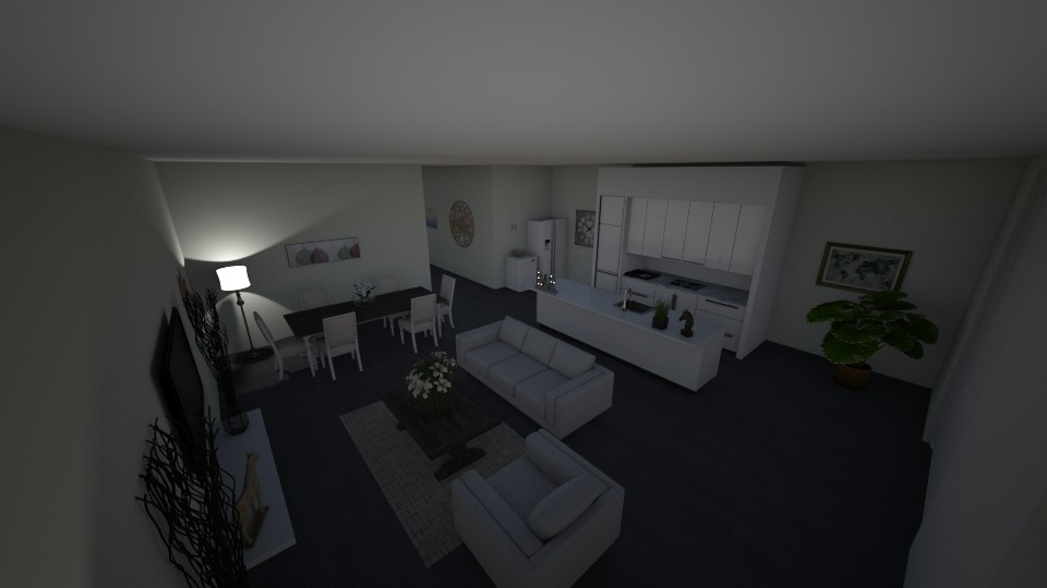 House white - by zhaaa