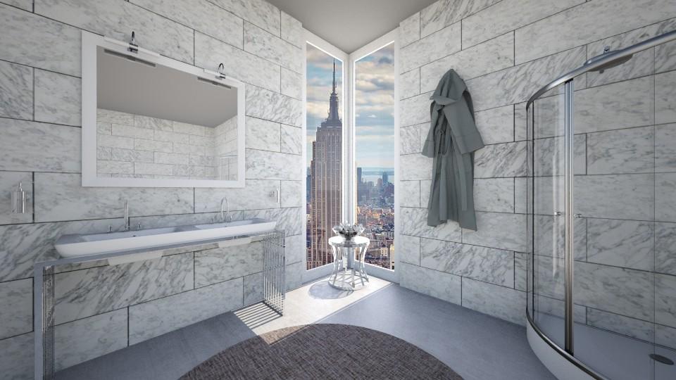 Chic Bathroom - Modern - Bathroom - by mclaraop
