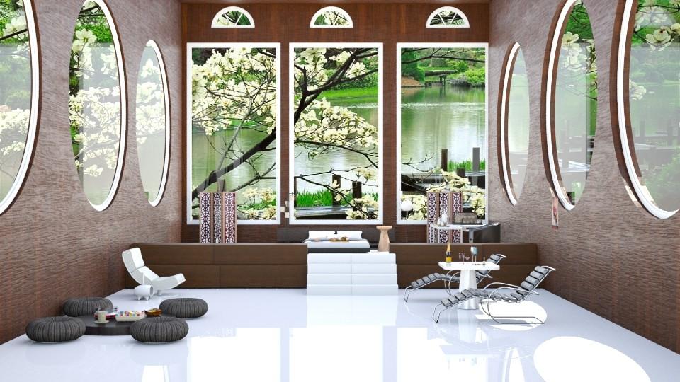 Some Call It Zen  - Modern - Bedroom - by InteriorDesigner111