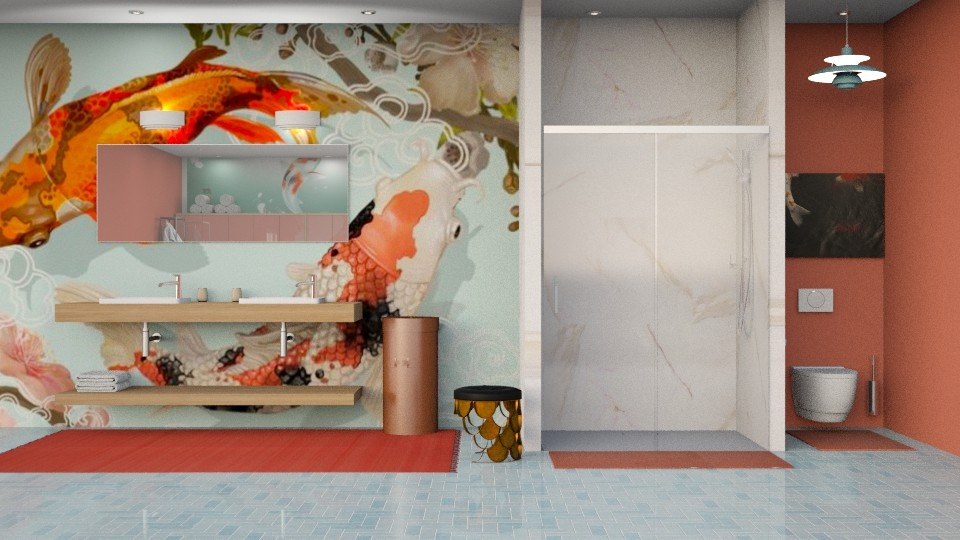 Koi Bathroom - Bathroom - by jjp513
