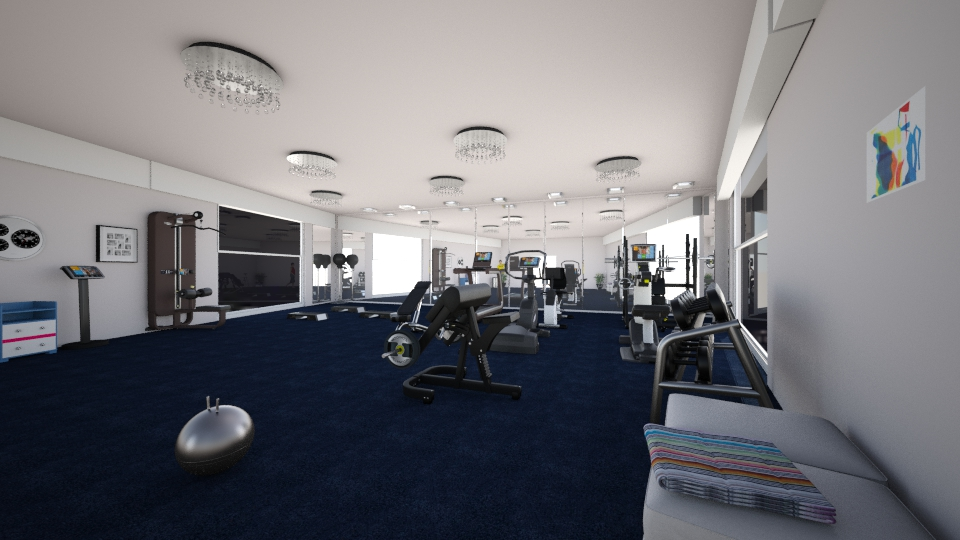 GYM ROOM - Eclectic - by dalia sn