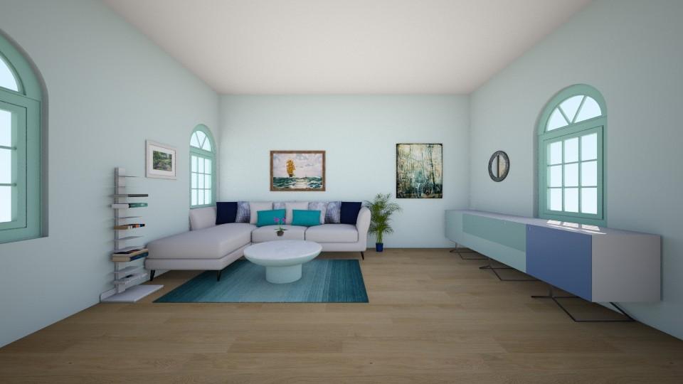 sea - Living room - by Deni star