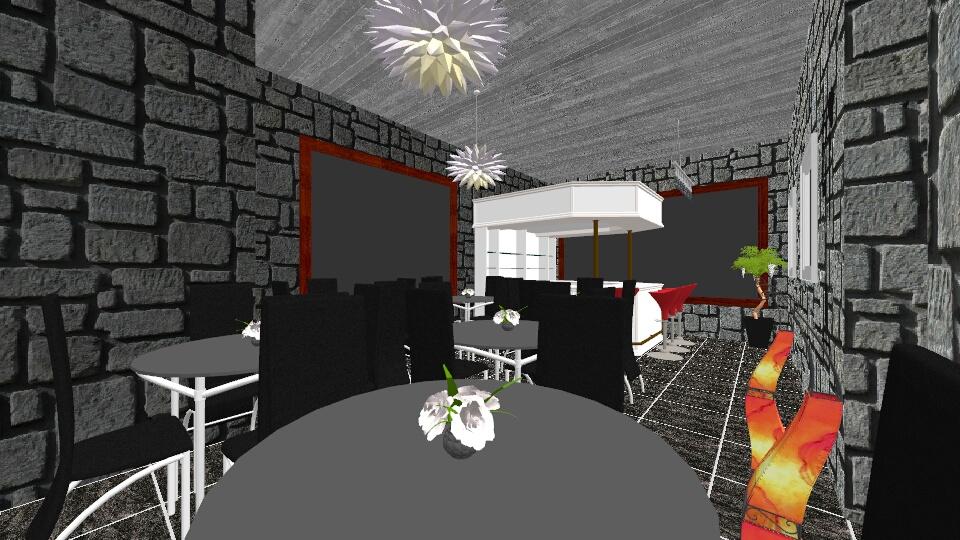 the restaurant - Dining room - by Dasha Chukalovskaya
